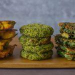 קציצות ירק עם קמח חומוס