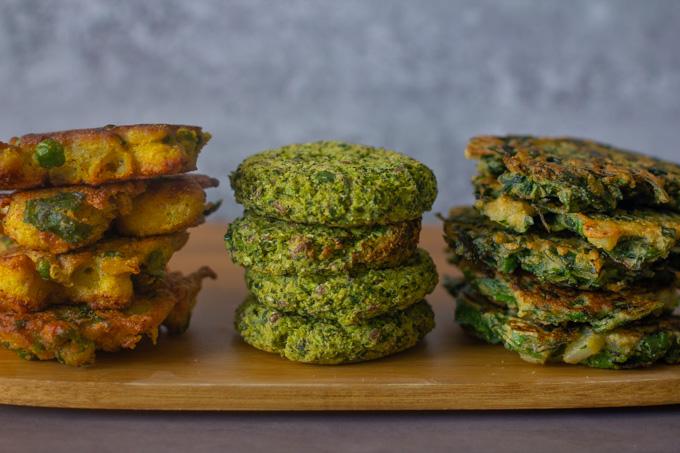 Vegan Patties with Chickpea Flour