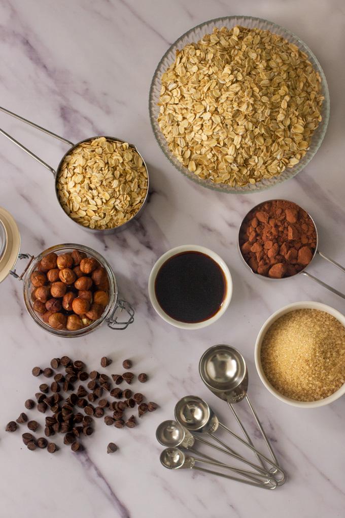 Cocoa and Hazelnuts Granola