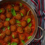 Vegan Adzuki Bean Meatballs