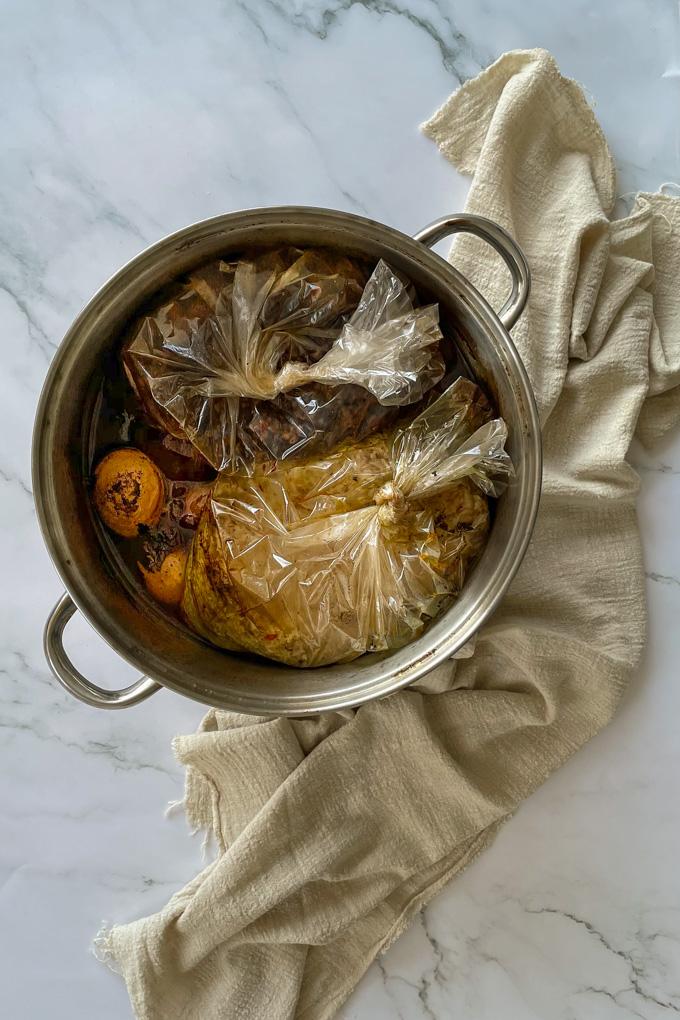 חמין צמחוני מרוקאי